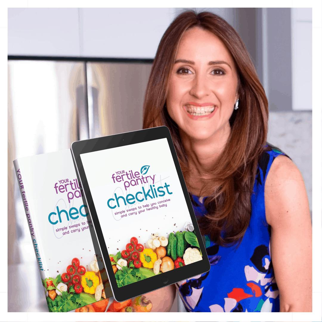 Tasha Jennings Your Fertile Pantry Checklist